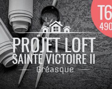 Deuxième tranche du projet immobilier : duplex T6 rez-de-jardin – Le Loft Sainte Victoire Acte II